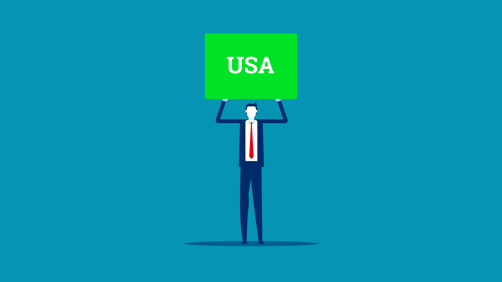 holding a USA Green Card